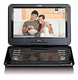 Lenco Tragbarer DVD-Player DVP-1273 ? 12 Zoll DVD-Player mit DVB-T2 HD Tuner ? integrierter Akku ?...