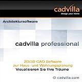 cadvilla professional, Architektur 2D/3D CAD Software / Programm - nutzbar als Hausplaner,...