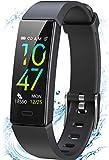 Winisok Fitness Armband mit Blutdruckmessung Pulsmesser, Fitness Tracker Uhr Wasserdicht IP68...