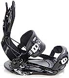 RAVEN Snowboard Bindung Fastec FT270 (Black, XL(43-47))