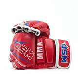CXKWZ Boxhandschuhe Boxhandschuhe Pu Mateial Halbhandschuhe Muay Thai Training Atmungsaktiv...