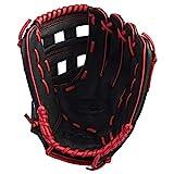 Wilson A360 Baseballhandschuh für Rechtswerfer 12 Inch, Schwarz/Rot