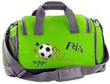 Mein Zwergenland Multi Sporttasche Kinder mit Schuhfach und Feuchtfach Sporttasche mit Namen...