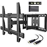 TV Wandhalterung Schwenkbar Neigbar max.VESA 600x400mm für 37-75 Zoll (94-190cm) LED LCD Flach &...