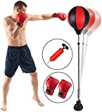 Punchingball Standboxsack Boxsack Set Höhenverstellbar Sandsäcke Punchingbälle Boxen Boxstand...