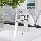 Oyunngs G1/2in Wasserhahn, Haushalts Kupfer Waschbecken Waschbecken Wasserhahn Einhand Heiß...