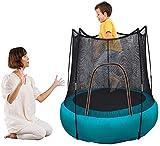 Smartpanda 46in Einstiegsleiter Gartentrampolin - Kindertrampoline - Maximale Belastung 100 kg - Fitness-Trampolin, Innen- und Gartentrampolin, ideal für Kinder und Erwachsene