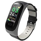 CUHAWUDBA C15 Frauen M?Nner Headset Anruf Erinnerung FüR Ios Android wasserdichte Fitness Tracker...