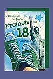 18 Geburtstag Karte Grußkarte Turnschuh Abenteuer Foliendruck 16x11cm
