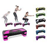 LHY Kitchen Aerobic Stepper Fitness Steps Höhenverstellbare Cardio-Trainingsstufen für das...