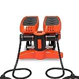 Nologo Mini Fitness Stepper, Aerobic Fitness Rope Workout Cord Trainieren Sie Ihre Arme und Beine -...