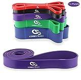 Coresteady Fitnessbänder | Klimmzug Support Band | Trainingsband für Crossfit –...
