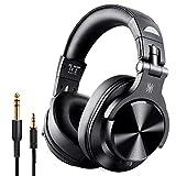 OneOdio Bluetooth Kopfhörer Over Ear, Geschlossene Studiokopfhörer mit Share Port, kabelgebundene...