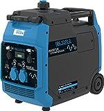 Güde ISG 3200-2 Inverter Stromerzeuger (3200 Watt Dauerleistung, 2x 230 Volt und 2x USB, Invertertechnik für empfindliche Geräte wie z.B. Handys oder Computer) 40721