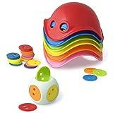 Bilibo Set 1Würfel + 36Chips + 1Beutel + 1kleinen Buch Information, verschiedene Farben,...
