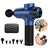 YA Hand Muscle Massage Gun, für Akku Deep Tissue Massage tragbare elektrische Körpermassage Gun...