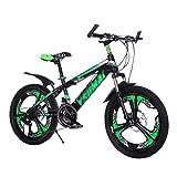 Falträder Kinderfahrrad Student 20 Zoll Einrad Fahrrad Doppelscheibe Bremsschock 21-Gang-Shift...