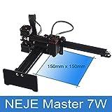 Garciadia NEJE Master 7000mW Micro Laser Engraver Graviermaschine Router Cutter Drucker für...