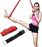 DEIRIS langer verstellbarer Beinstrecker Yoga-Gurt mit 3 m für Pilates, Workouts,...