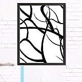XWArtpic Kreative Abstrakte Einfache Linie Grafiken Pflanzen Malerei qualität HD Wohnkultur Kunst...