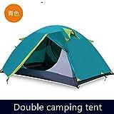 Outdoor -Profi Camping -Zelt Doppel Kälte Und Wind 1-2人Cyan