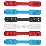 Healifty Ohrriemenverlängerer Tragbarer Drei-Gang-Masken-Seilstecker Anti-Festziehen-Gehörschutz zum Tragen von 6-Tlg