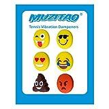Vibrationsdämpfer für Tennis im 6er Pack (Muzitao)
