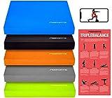 MSPORTS Balance Pad - Premium - inkl. Balance Übungsposter - Gleichgewichtstraining und...