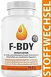 Vihado F-BDY 2.0 - Stoffwechsel Komplex Kapseln, Für Frauen und Männer mit Grüner Kaffee Extrakt,...
