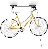 Relaxdays Fahrradaufhängung, Fahrradlift, bis 20 kg, Fahrrad Deckenhalter, mit Seilzug, für Garage...