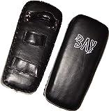 BAY® LEDER 'Thai Tech' Arm Schlagpolster, schwarz, Makiwara, Armpratze, Kick Punch Muay Thai Pad,...