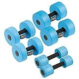 Beco AquaHantel Aquahanteln Aquajogging-Hanteln Aquafitness-Hanteln Set 6-TLG, je 1 Paar Größe S,...