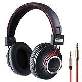 Bluetooth HiFi Kopfhörer Kabellosen Over Ear mit Leichtem Ohrpolster & Dual 40mm Treiber, 30...