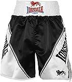 Lonsdale Erwachsene Boxing Hose Pro Lüftungs, schwarz/Weiß, XL