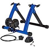 Ultrasport Rollentrainer für Fahrrad mit und ohne Schnellspanner, belastbar bis 100 kg, der Rad...