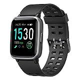 Willful Smartwatch,Fitness Armbanduhr mit Pulsuhr Touchscreen Fitness Uhr IP68 Wasserdicht Fitness...