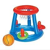 Rouku Wasser Basketball Hoop Pool Float Aufblasbares Schwimmbad Spielzeug Wassersport Spielzeug Pool...