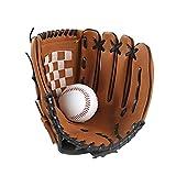 GCDN 1 stück Baseball Handschuhe, Baseball Mitts Pitcher, Pu-Leder Linke Hand Baseball...