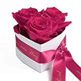 ROSEMARIE SCHULZ Heidelberg Engel ohne Flügel nennt Man Mama 3 Infinity Rosen Box Herz Geschenk zum...