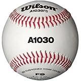 Wilson Baseballs, A1030 FLAT SEAM,  Weiß, WTA1030BFS