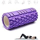 Schaumstoffrolle Yoga, Fitness Faszienroller Faszienübungen Mit Für Feste Muskeln, Pilates,...