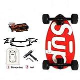 Mini Longboard Cruiser Skateboards-Kleines Skateboard für Erwachsene und Kinder, mit breitem...
