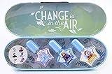 Frozen II Nageldesign Set – 3x Schimmer Nagellack & Mini-Sticker