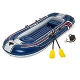 Bestway Track Hydro Force Aufblasbares Boot, 4 Sitzplätze, 307 x 126 x 39 cm – Gewicht max. 270...