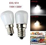 Leuchtmittel Für Kühlschränke E14/E12 2W 2835Smd Mini Led Scheinwerferbirnen Kühlschrank...