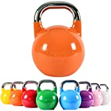 MSPORTS Kettlebell Competition 4-32 kg inkl. Übungsposter   Professional Studio Qualität  ...