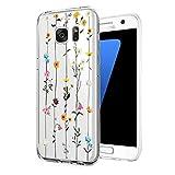 Kompatibel mit Samsung Galaxy S6 Hülle,Crystal Clea Soft TPU Silikon Transparent Ultra Dünn...