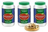 VITAIDEAL ® Weissdorn-Beeren (Crataegus monogyna) 3x360 Kapseln je 530mg, aus rein natürlichen Kräutern, ohne Zusatzstoffe von NEZ-Diskounter