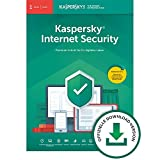 Kaspersky Internet Security 2020 Standard | 1 Gerät | 1 Jahr | Windows/Mac/Android |...