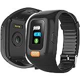 LEDLXK GPS-Tracker Für Senioren Mit SOS Notruf GPS Ortung Telefon Heart Monitor Hilfe Im Notfall